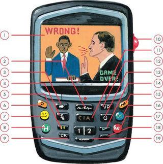 Obama Blackberry