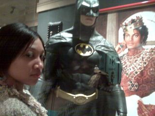 With Batman