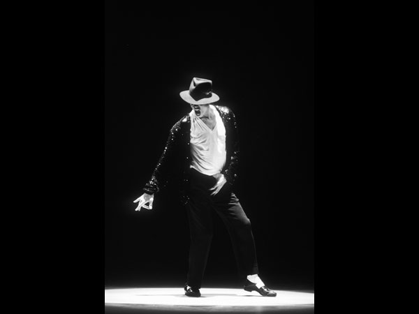 MJ Billie Jean b_w