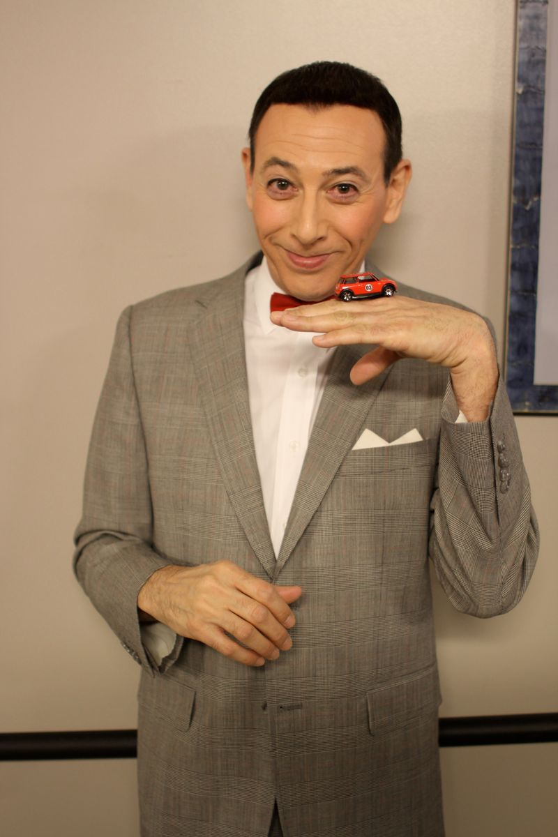 Pee-wee Herman meets Ryan's Mini